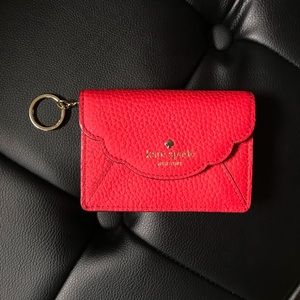KATE SPADE NEW YORK red wallet